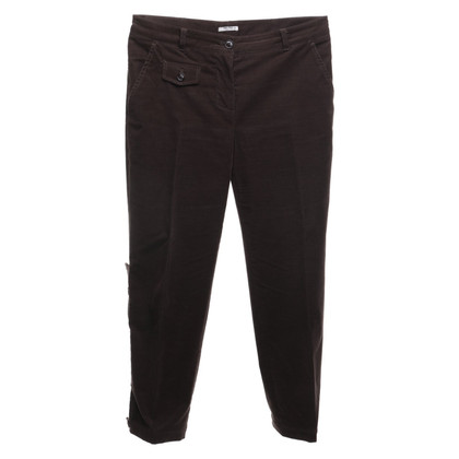 Miu Miu Pantaloni in marrone