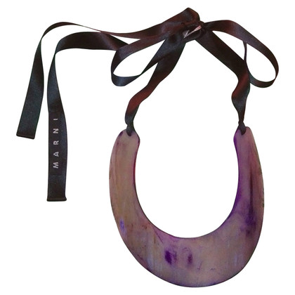 Marni Necklace with horn-pendant