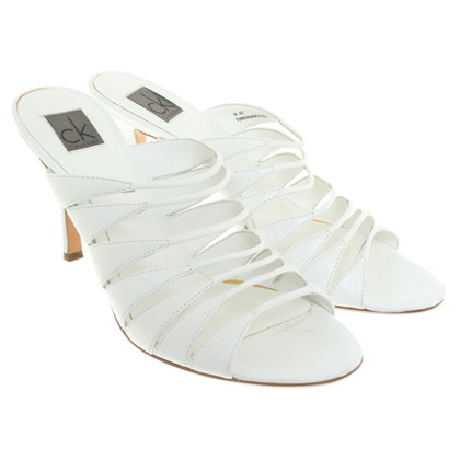 Calvin Klein Sandals in white