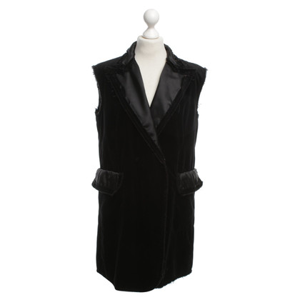 MM6 by Maison Margiela gilet di velluto