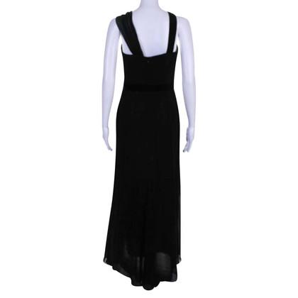 Carolina Herrera Maxi-jurk in zwart