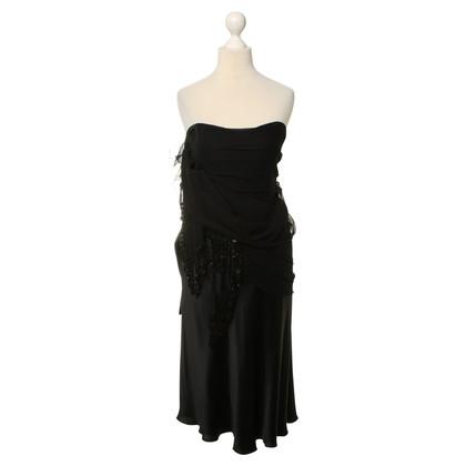 Moschino Silk dress in black