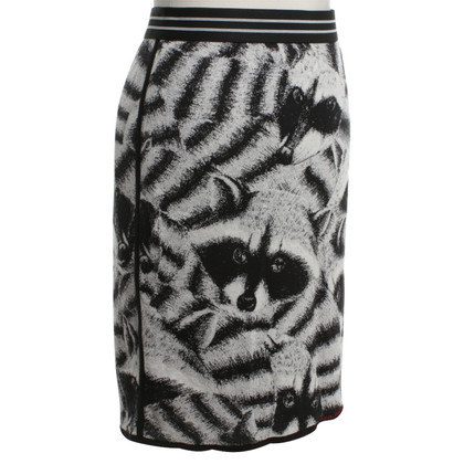 Marc Cain Rok met animal print