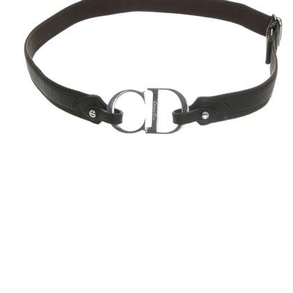 Christian Dior Cintura con lettering del logo
