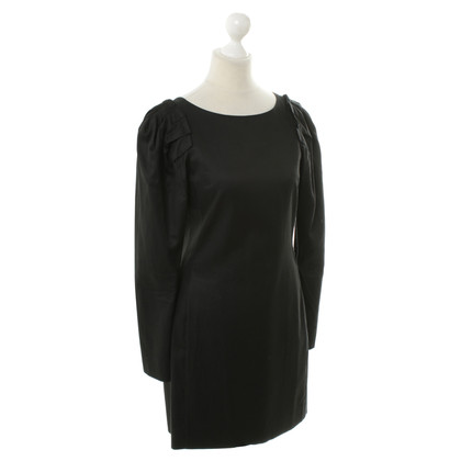 Cos Long sleeve dress in black