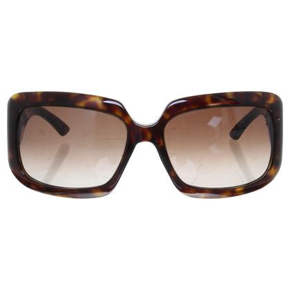 Christian Dior Zonnebril met vierkante glazen