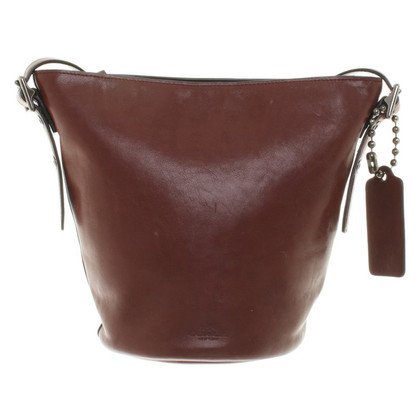 Coach Leather bag in brown
