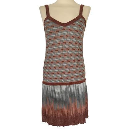 Missoni Knit dress with silver thread