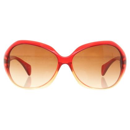 Miu Miu Occhiali in rosso