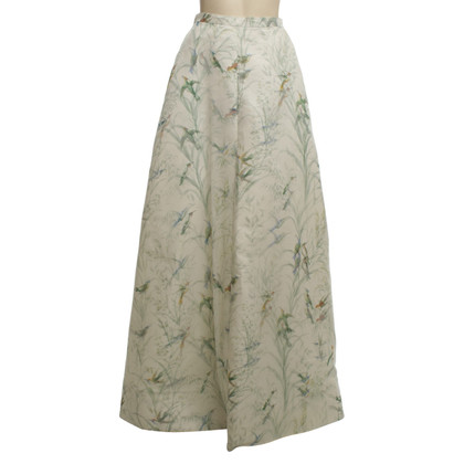Rochas Silk skirt with print