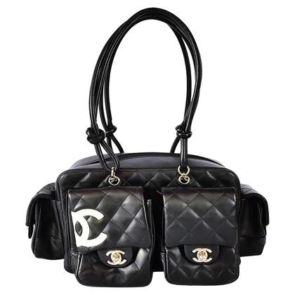 "Chanel ""Ligne Cambon Reporter Bag"""