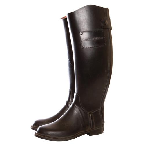 f557a61904a641 Burberry Bottes de pluie noires - Acheter Burberry Bottes de pluie ...