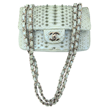 Chanel Reptile leather evening bag