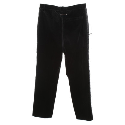 MM6 by Maison Margiela fluwelen broek
