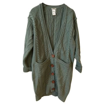 Chloé Cardigan in verde