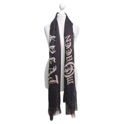 Alexander McQueen Scarf with fringes