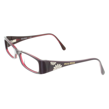 Miu Miu Brille in Violett