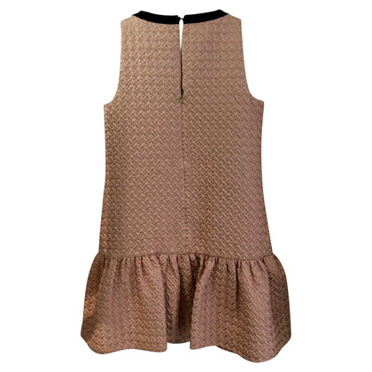 Max Mara Kleid im Brokat-Stil