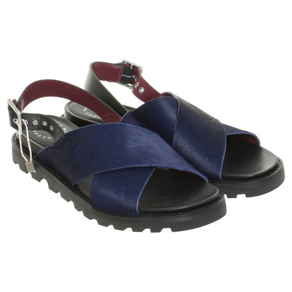 Marc by Marc Jacobs Leather sandals with leather