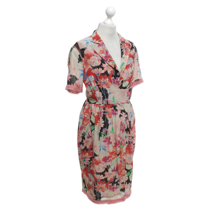 Wunderkind Dress with a floral pattern
