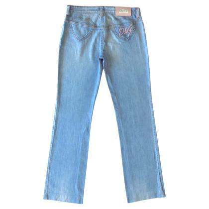 D&G Jeans mit rosa Details