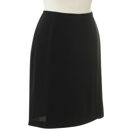DKNY Wrap skirt in midnight blue