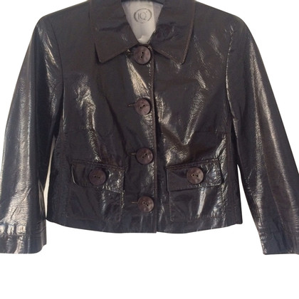 IQ Berlin Patent leather jacket
