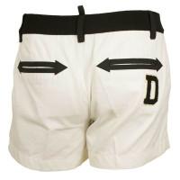 Dsquared2 Weiße Bermuda-Shorts