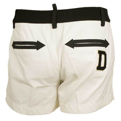 Dsquared2 White Bermuda shorts
