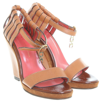 Costume National Wedges made of leather