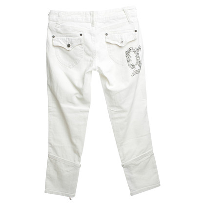John Galliano Jeans in Weiß