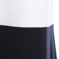 Iris von Arnim Katoenen jurk in bicolor