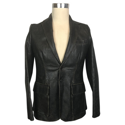 Ralph Lauren blazer Leather