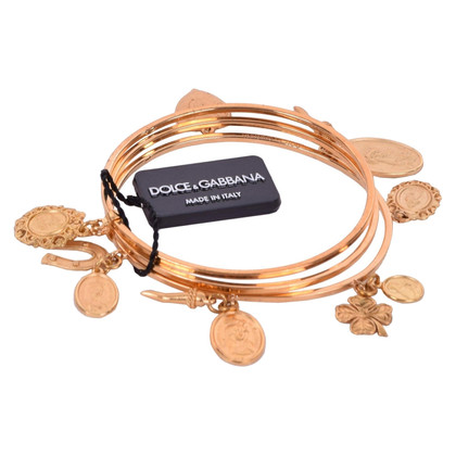 Dolce & Gabbana Mary Charm Bracelet oro