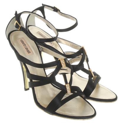 Roberto Cavalli Sandals with gemstones