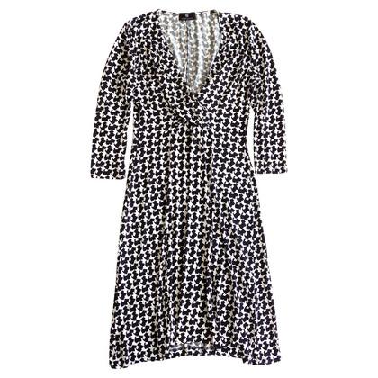 Rena Lange Zwart-wit jurkje