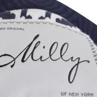 Milly Cappotto in blu scuro con un'interfaccia