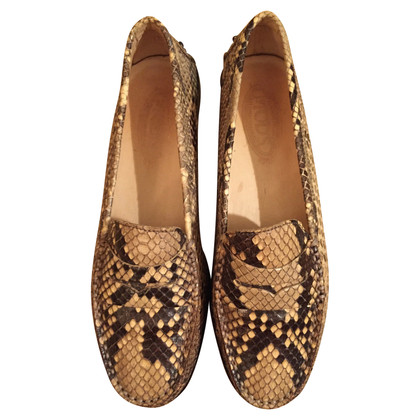 Tod's Snake leather loafer