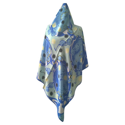 Guy Laroche silk carré scarf
