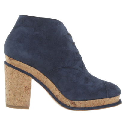 Chanel Ankle boots in dark blue