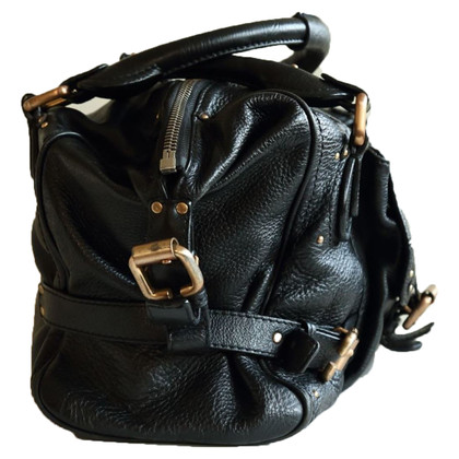 Chloé Paddington Bag in Black Leather