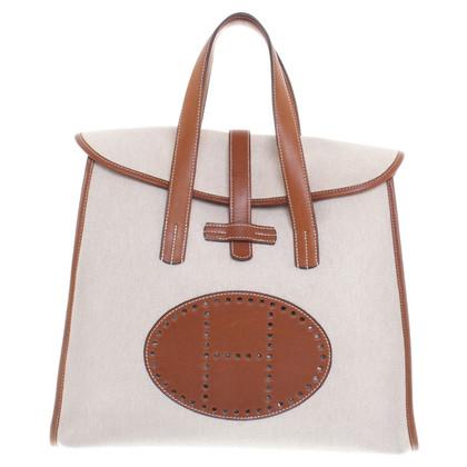 Hermès Handbag made of canvas