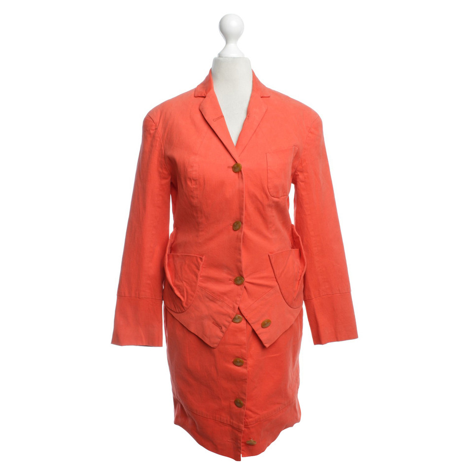 Vivienne Westwood Costume in orange