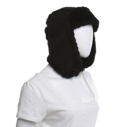 UGG Australia Cap con pelle di agnello