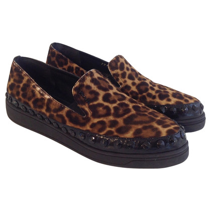 Prada Sneakers met animal print