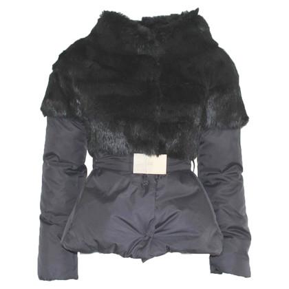 Elisabetta Franchi Jacket with fur