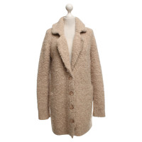 Bloom Coat in beige