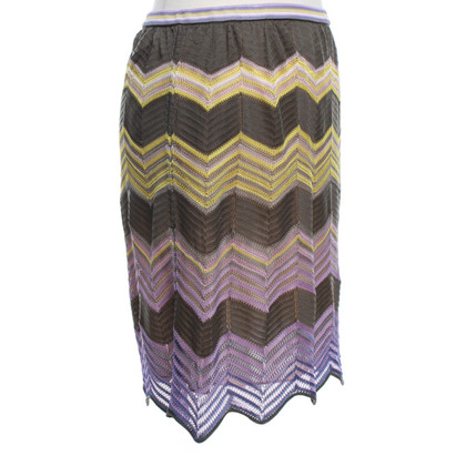 Missoni skirt with crochet top