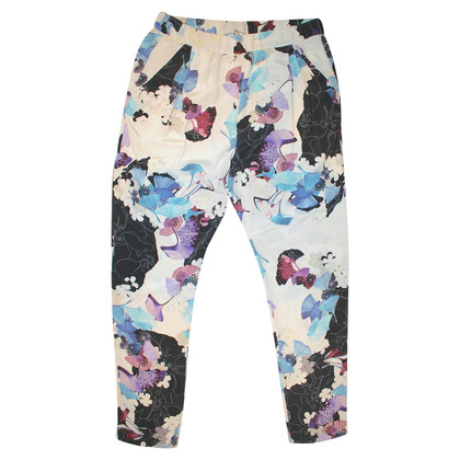 3.1 Phillip Lim Floral Silk Trousers