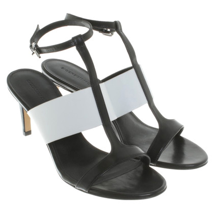 Sigerson Morrison Sandals in black and white